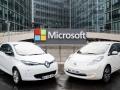 A Microsoft köti össze a Renault-Nissan termékeit