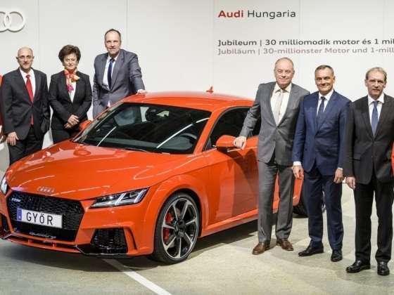 Harminc az egyhez - Jubileum az Audinál