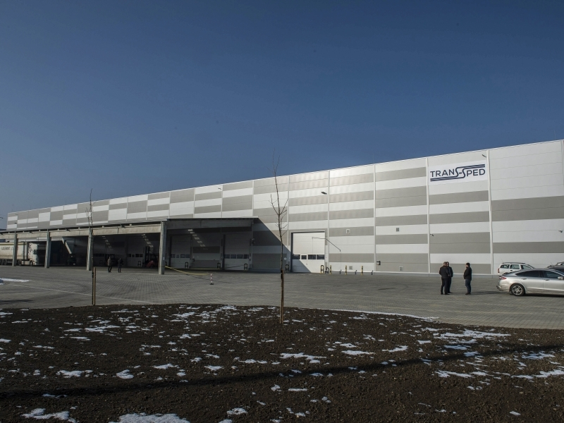 Átadta tatabányai logisztikai központját a Trans Sped Kft