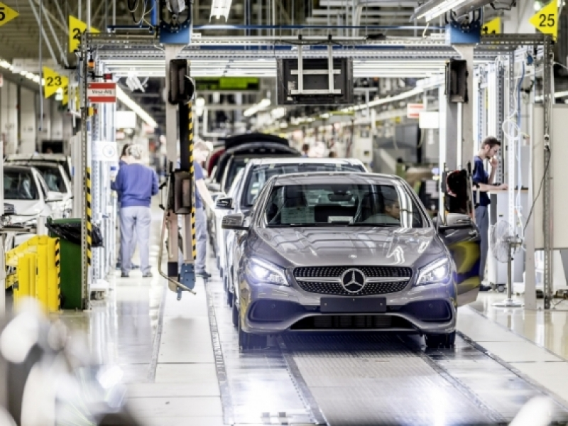 All Models On A Single Production Line Mercedes Builds 1 Billion Flex Plant In Kecskemét News Autopro English