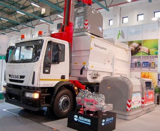 Allison To Supply New Waste Collection System